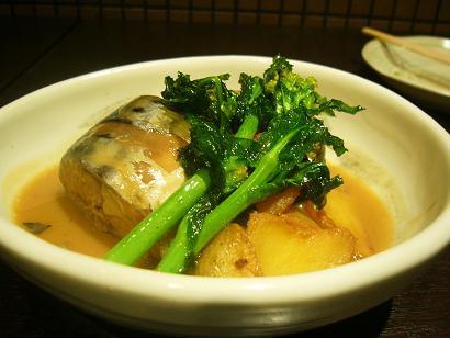 鯖と新じゃがの味噌煮です (2)