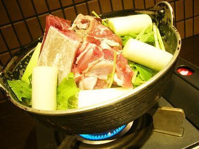 鮪 ネギマ鍋