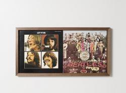 ・LPレコードジャケットフレーム 2連タイプ (FR-LP-02)