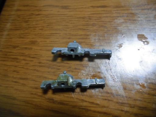 台車の金属部品
