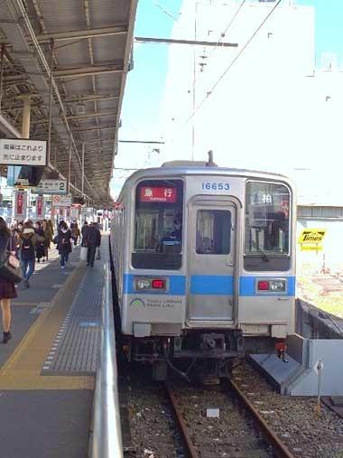 2急行電車1202