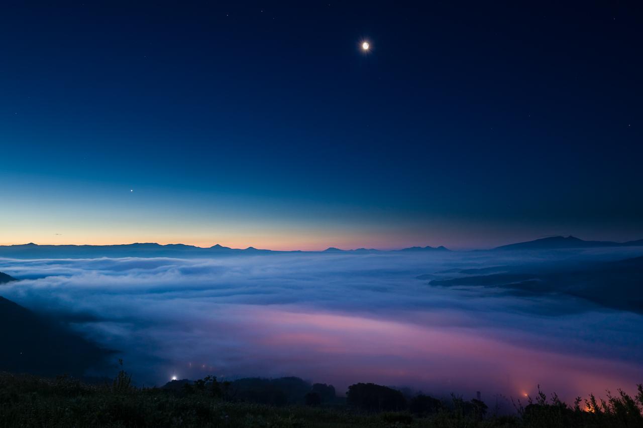ニセコ某所の雲海