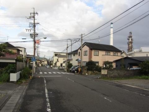 旧東海道 島田市河原