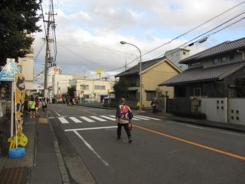 島田宿京方入口