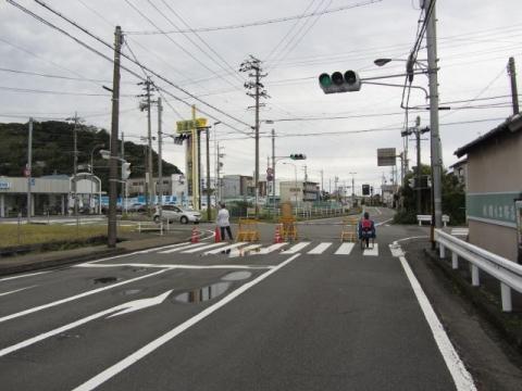 旧東海道 島田市御仮屋町