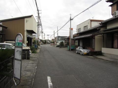 栃山バス停