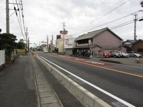 県道381号 島田市阿知ケ谷・道悦