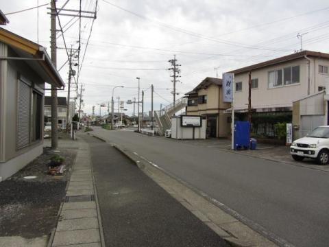 旧東海道 島田市阿知ケ谷・道悦