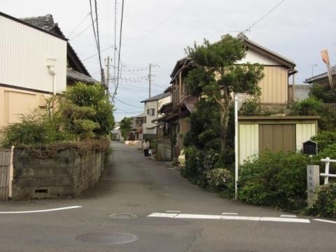 古東海道の追分