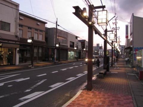 旧藤枝宿上伝馬町