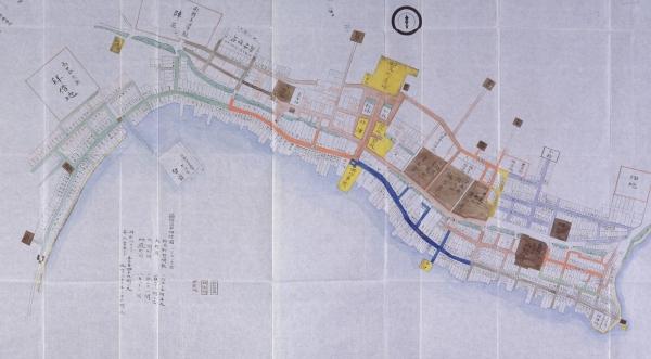 箱館市中細絵図