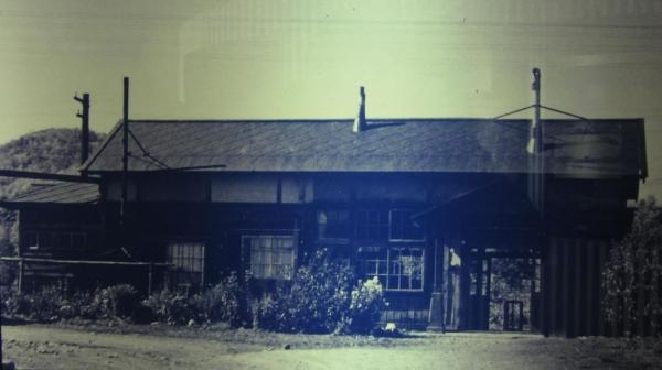 現役時代の沼牛駅