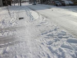 161207道路雪