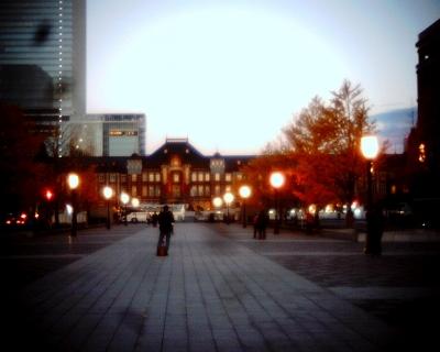 東京駅・夕景:Entry