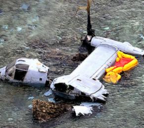 オスプレイ墜落 沖縄