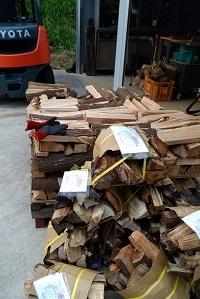 乾燥広葉樹薪500円