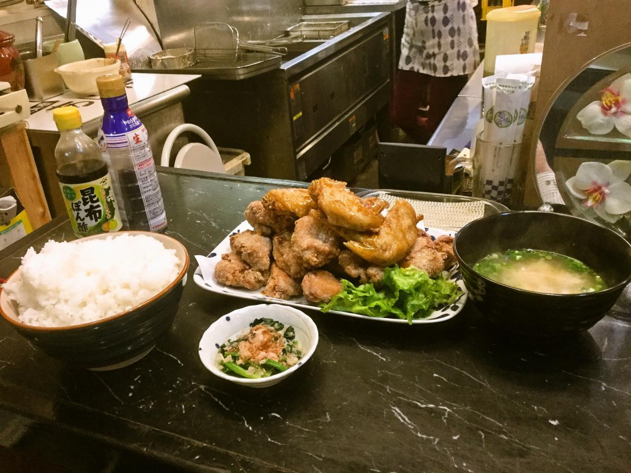 あげ市鶴見店(腹減った定食)