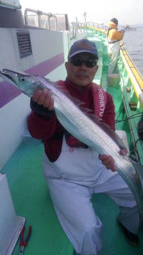 118cm 太刀魚 観音崎