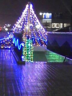 ライトアップ渋沢