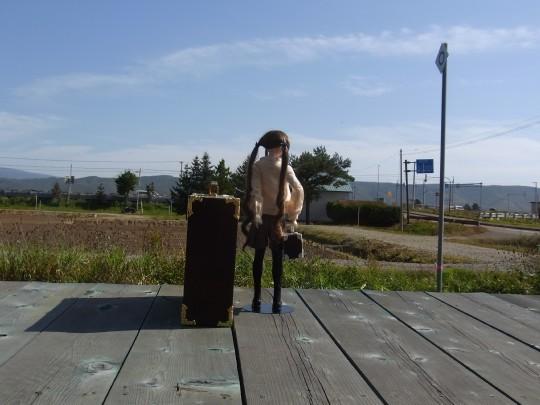 富良野 学田駅12