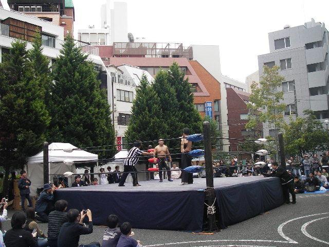 神田カレーグランプリチャンピオンズフェスティバル2016プロレス