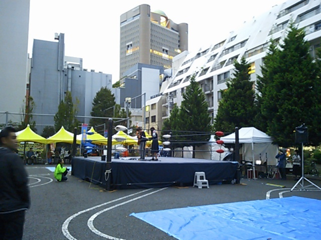 神田カレーグランプリチャンピオンズフェスティバル2016会場演奏