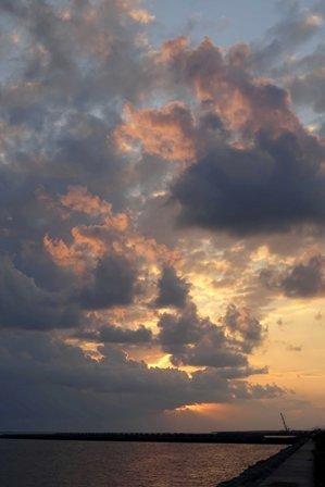 夕焼雲猫島11-05-17-50 DSC09912