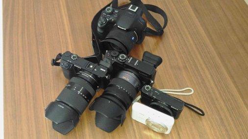 カメラたち P_20161225_110448