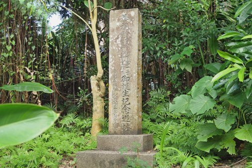 初詣皇太子誕生記念碑 P1060323