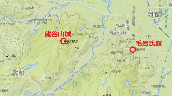 龍谷山城アク