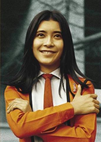 桜井浩子さんが演じた、科学特捜隊のフジ・アキコ隊員