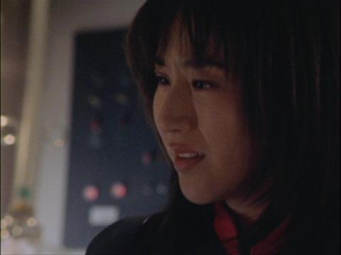 「私だって怖い。戦うのが怖い」 ユミムラ・リョウ隊員(演:斉藤りさ)