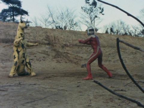 エレキング vs ウルトラセブン