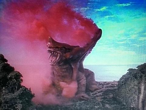 毒ガス幻影怪獣 バランガス