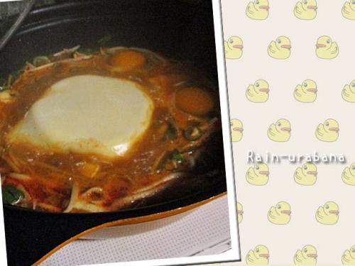 豆腐チゲざんす (^ ^V