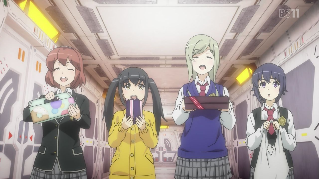 スクストアニメ#2 パーティー1