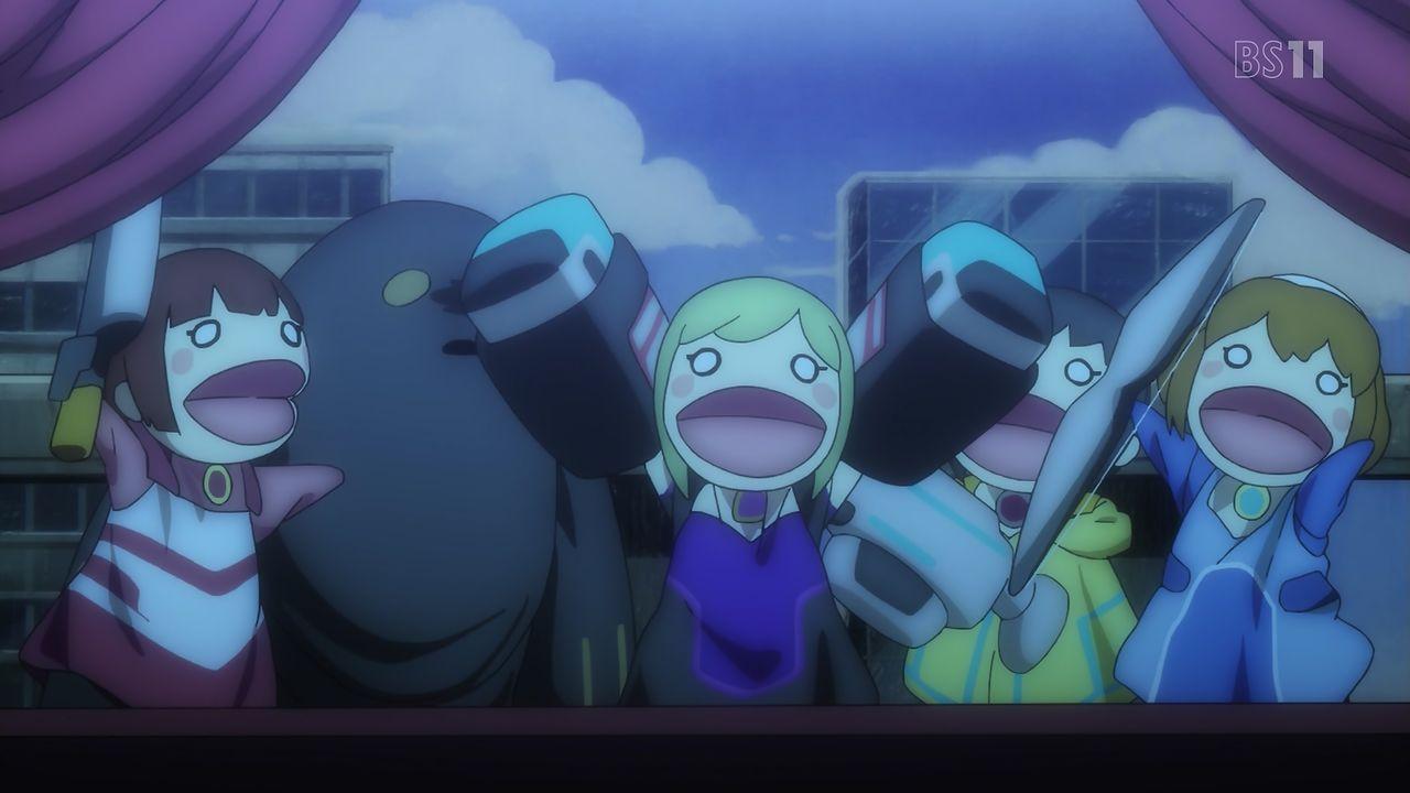 スクストアニメ#2 人形3