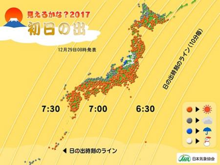 2017 0101 初日の出