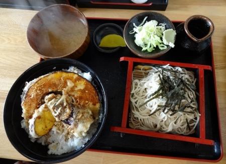 野菜天丼セット 800円