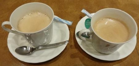 ホットコーヒー 130円×2