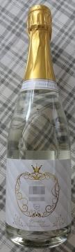 スパークリング清酒 きららきくすい 金箔入り 750 ml
