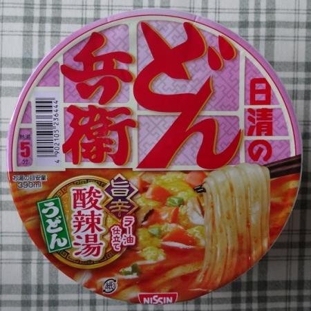 どん兵衛 旨辛 酸辣湯うどん 127円