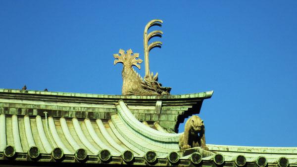 大成殿の屋根