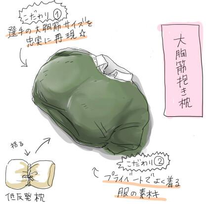 大胸筋抱き枕