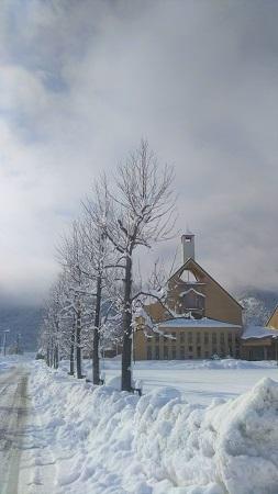雪の高島公民館 1 26