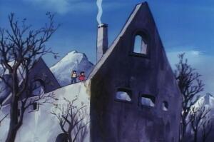 ハイジ 冬の家