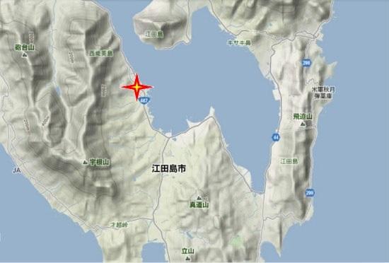 2)江田島町南部 浜地蔵
