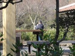 鏡山公園でアコーディオン20170103-2