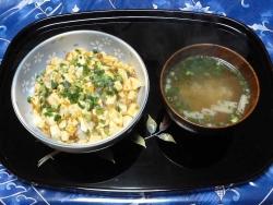 麻婆豆腐20170103夕食