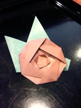 椿 折り紙